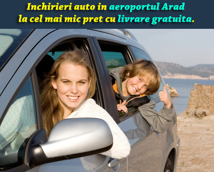 Inchirieri masini Aeroport Arad