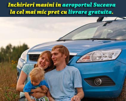 Inchirieri masini Aeroport Suceava