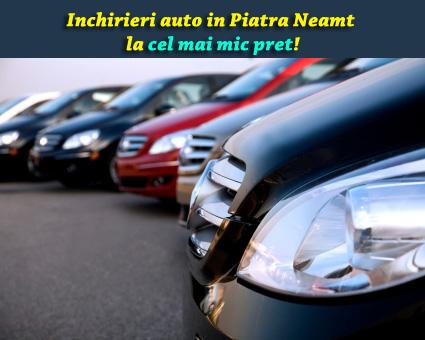 Inchirieri masini Piatra Neamt