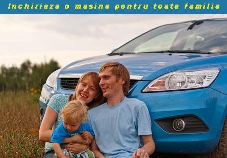 Rent a car Romania va ofera masini perfecte pentru plimbarile in familie