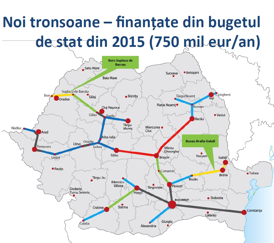 Autostrazile noi ale anului 2015