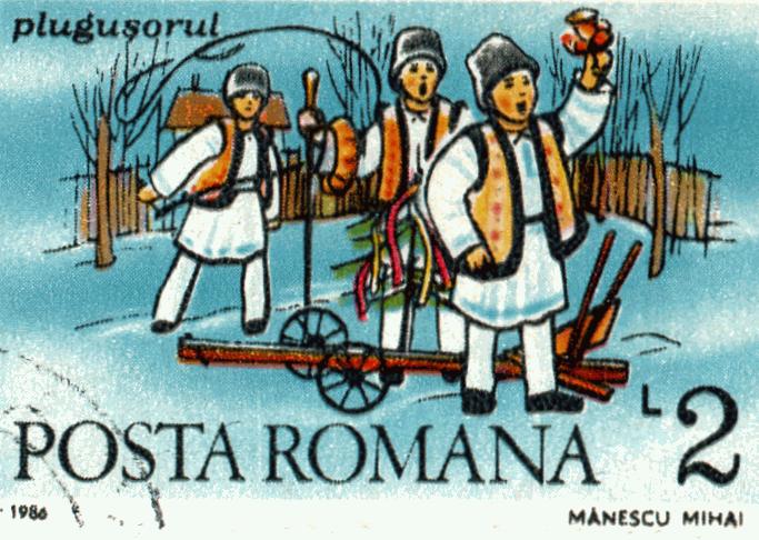 Traditii de anul nou in Romania