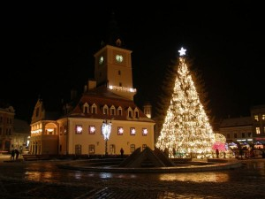 Orasele cele mai frumos decorate orase de Craciun din Romania